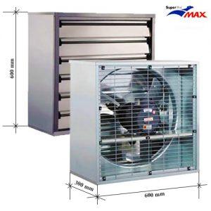Quạt hút gió vuông SHRV 600x600