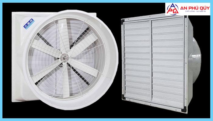 quạt thông gió vuông Composite 850x850x480