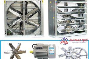 Sản xuất, phân phối quạt thông gió vuông công nghiệp giá rẻ, uy tín