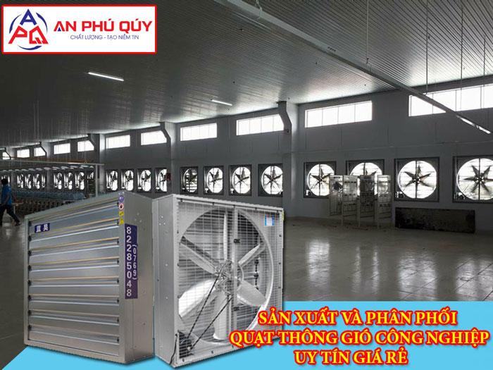 quạt thông gió công nghiệp tại Bắc Ninh