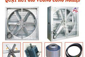 Những lí do nên sử dụng quạt hút gió công nghiệp