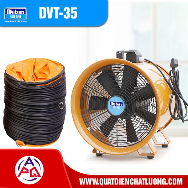 Quạt thông gió xách tay Deton DVT-35 giá rẻ